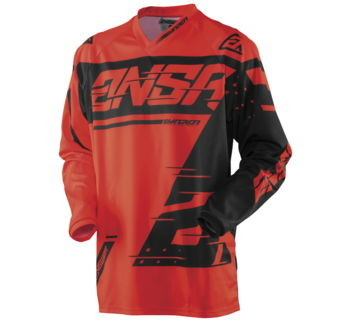 Answer Jersey Syncron 18 Red / Black Youth XS 472782