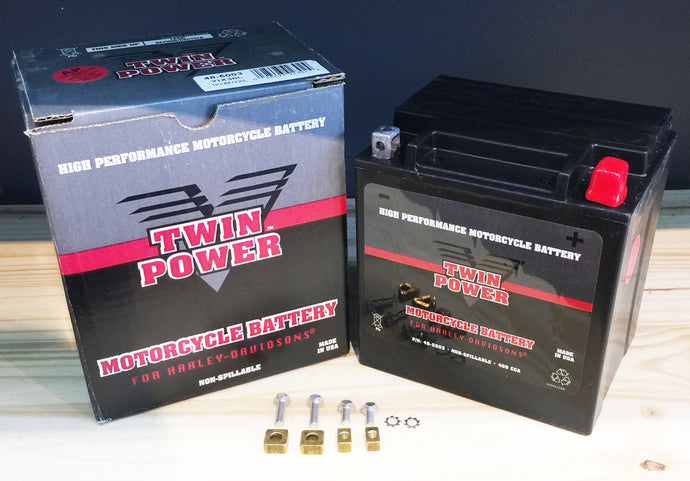 Twin Power AGM Batteries for Harley Davidson Made In USA
