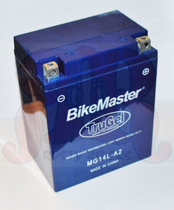 TruGel MG14L-A2 Battery Kawasaki ZX1100 Ninja ZX-11 1990 - 1993