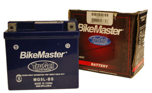 TruGel MG5L-BS Battery Polaris Scrambler 50 2003