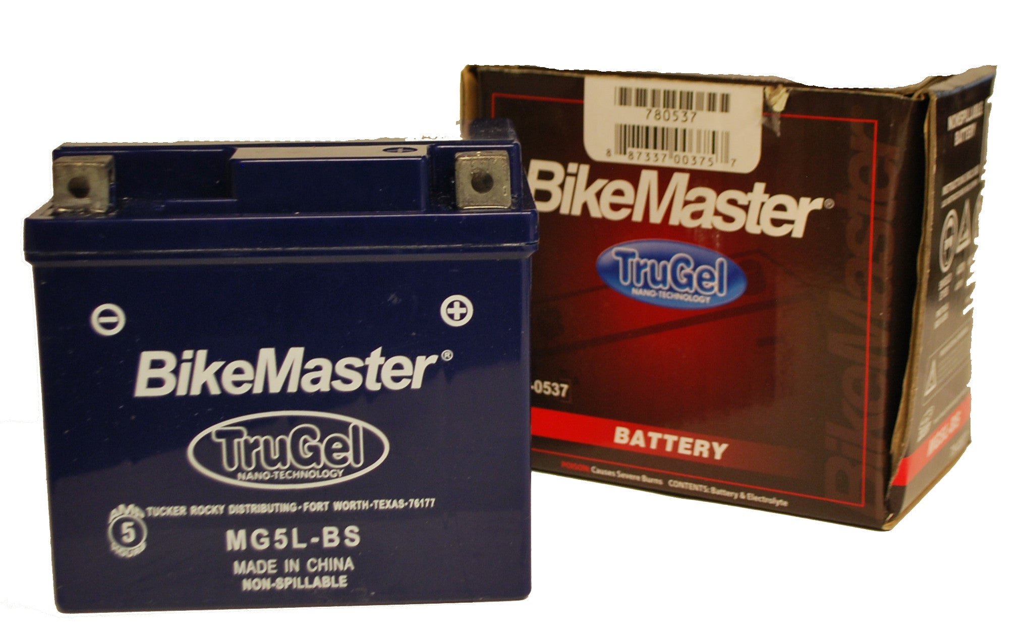 TruGel MG5L-BS Battery KTM 450 EXC-R 2008-2011