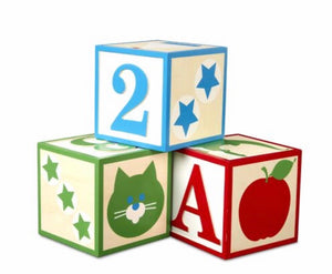 Jumbo ABC -123 Blocks