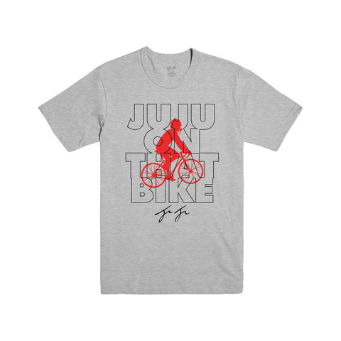 JuJu On That Bike Tee Heather Grey