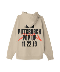 JuJu Pop Up Tan Hoodie