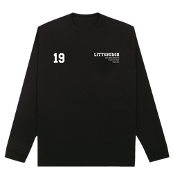 Littsburgh Black and White Long Sleeve