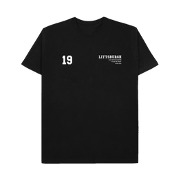 Littsburgh Black Tee