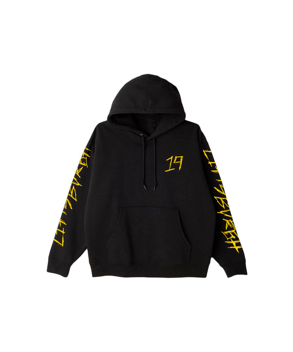 Distorted Black Youth Hoodie