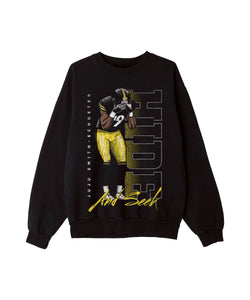 Hide and Seek Crewneck Black