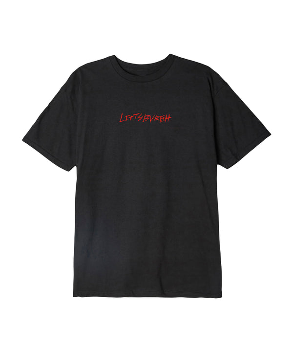 Distorted Black Tee