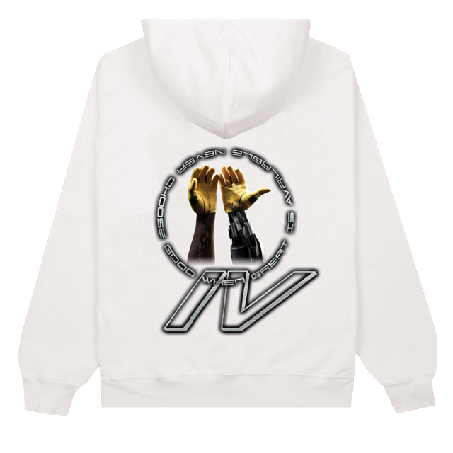 CHAPTER IV HANDS WHITE HOODIE