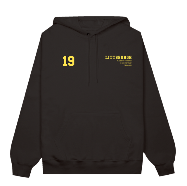 Littsburgh Black and Yellow Hoodie - Youth