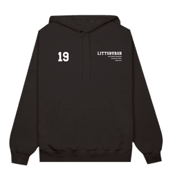 Youth - Littsburgh Black and White Hoodie
