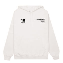 Youth - Littsburgh White and Black Hoodie