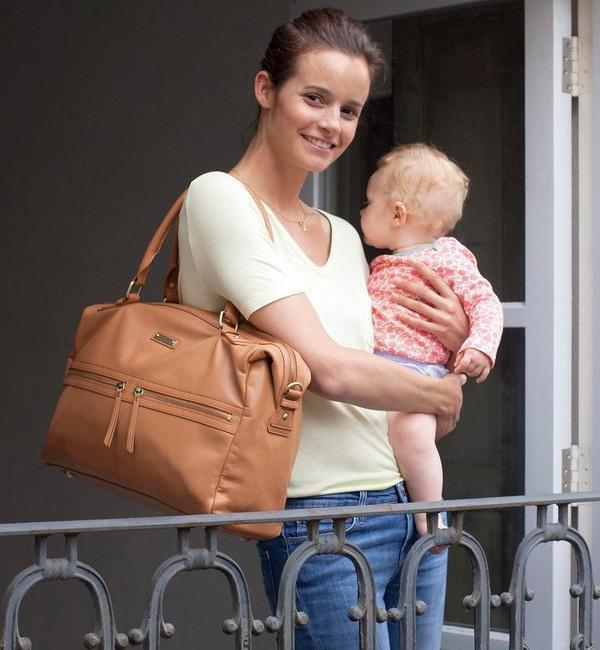 Caroline Leather - NappyBags.com