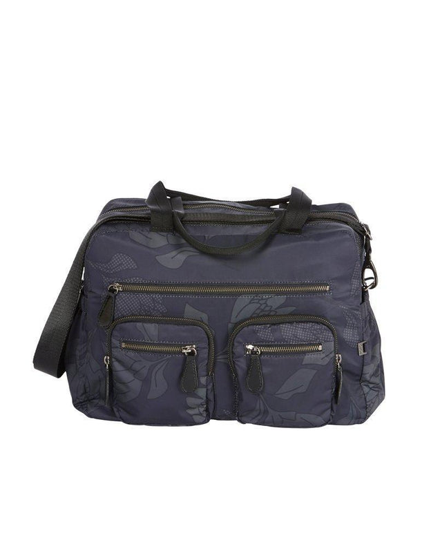 Carry All Black Protea Nappy Bag - NappyBags.com