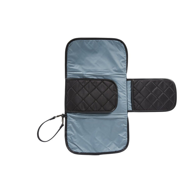 Change Clutch Black Quilt - NappyBags.com