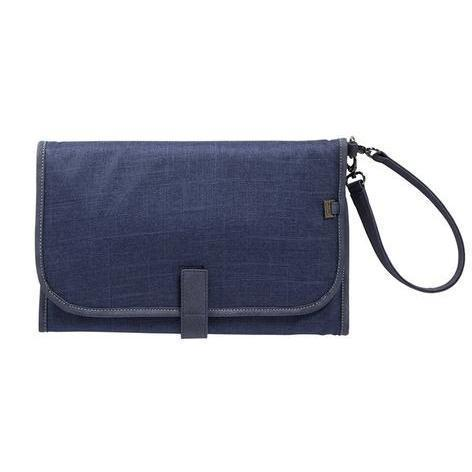 Change Clutch Denim Blue - NappyBags.com