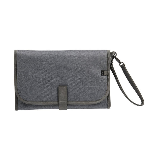 Change Clutch Denim Grey - NappyBags.com