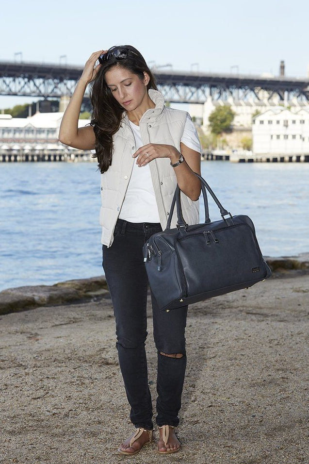 Double Zip Satchel - NappyBags.com