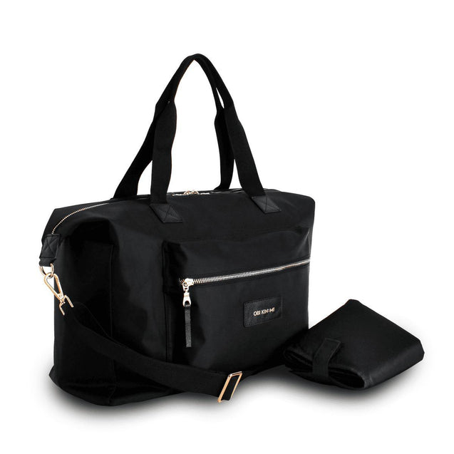 Obi Kinomi Essential Baby II Onyx Nappy Bag