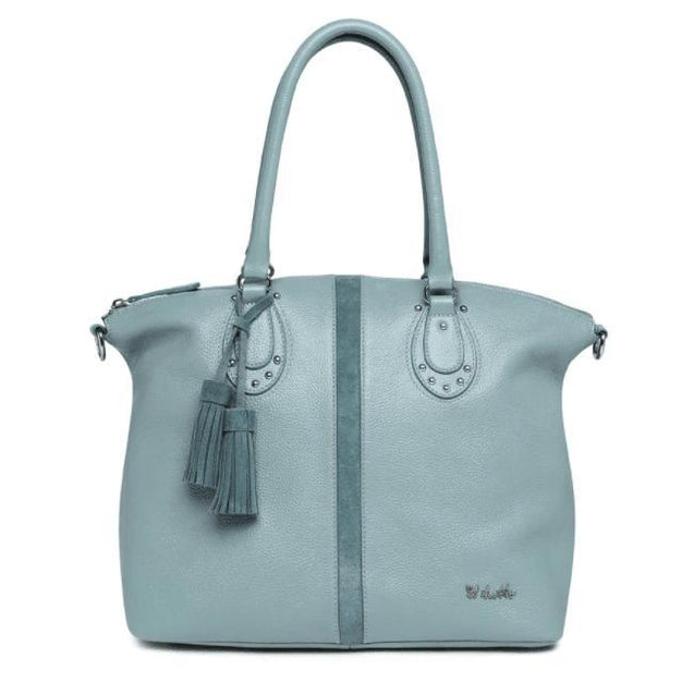 Ellyse Leather Tote - NappyBags.com