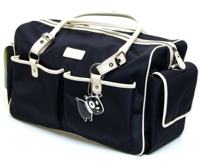 Escapades Holdall Black - NappyBags.com