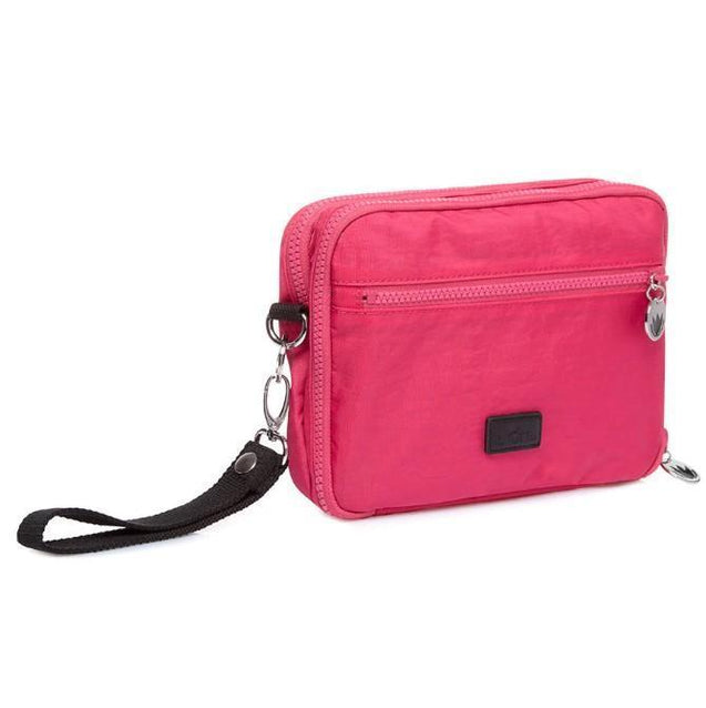 IL Tutto Milo All-In-One Nappy Changer Pouch In Pink - NappyBags.com