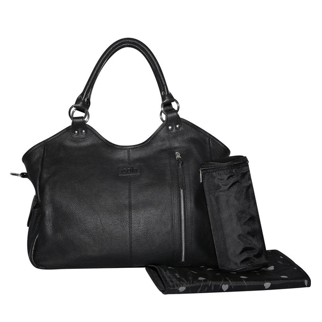 Leather Hobo Angel - NappyBags.com