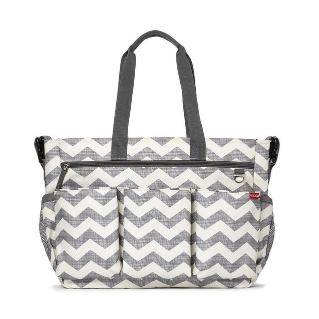 Duo Double Signature Chevron - NappyBags.com