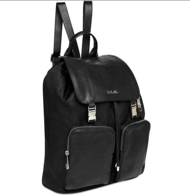 Susanna Backpack Nappy Bag In Black - NappyBags.com