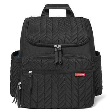 Skip Hop Forma Backpack Jet Black - NappyBags.com