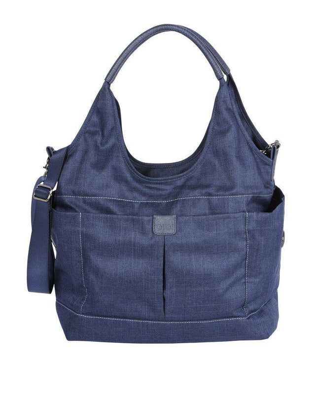 Tote Slouch Bucket Denim - NappyBags.com