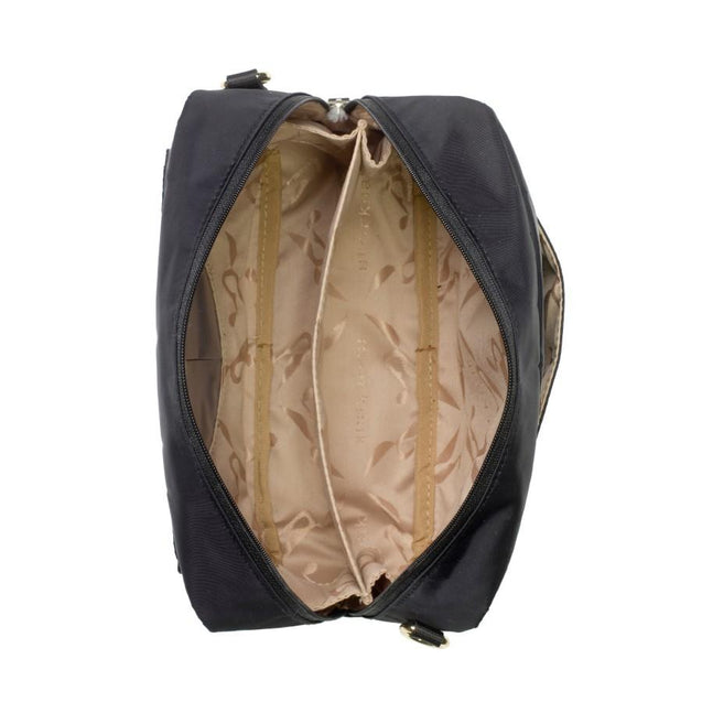 Storksak Mini Fix Black Nappy Bag