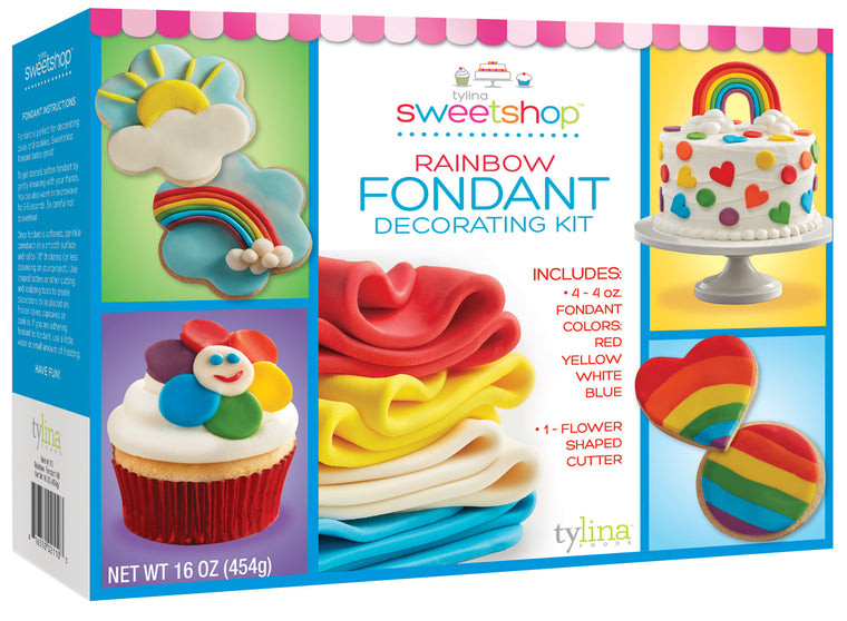 Sweetshop Rainbow Fondant Kit