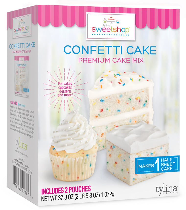 Sweetshop Confetti  Cake Mix 2-Pack