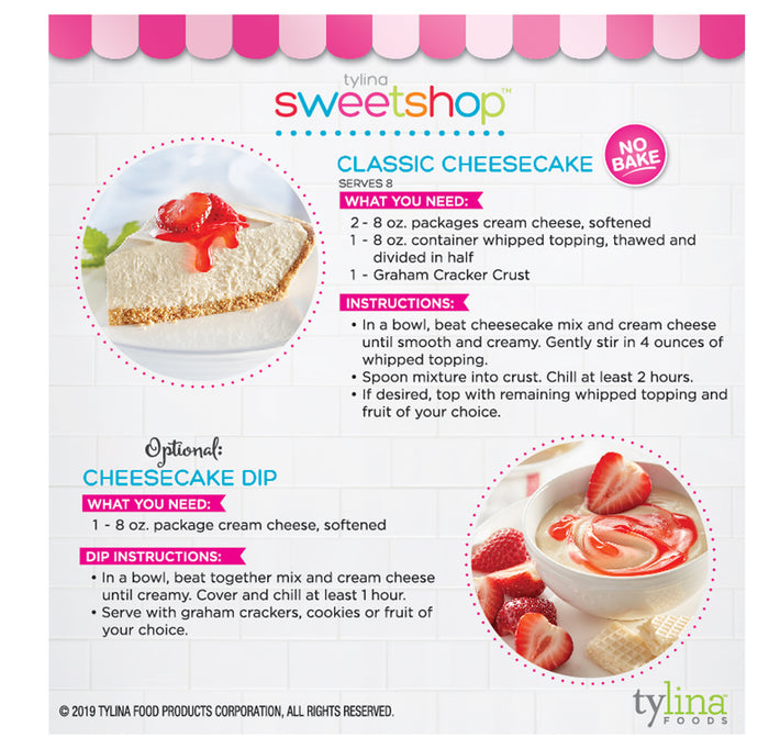 Classic Cheesecake & Dip Mix