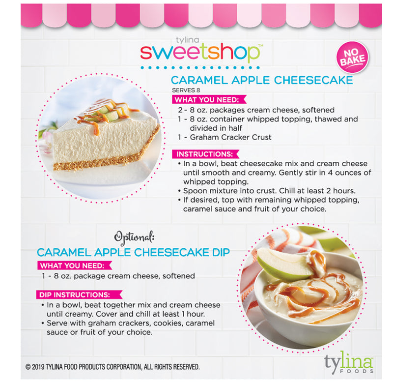 Caramel Apple Cheesecake & Dip Mix