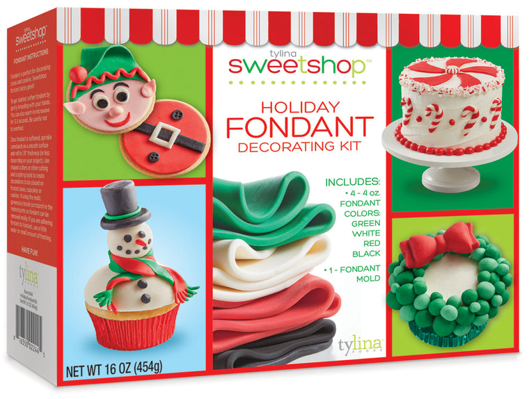 Sweetshop Christmas Fondant Project Kit