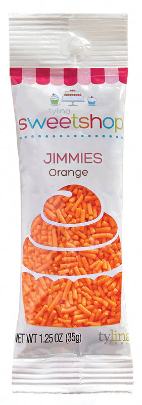 Sweetshop Orange Jimmies Packet