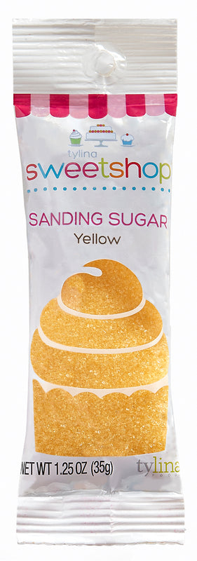 Sweetshop Yellow Sanding Sugar Packet