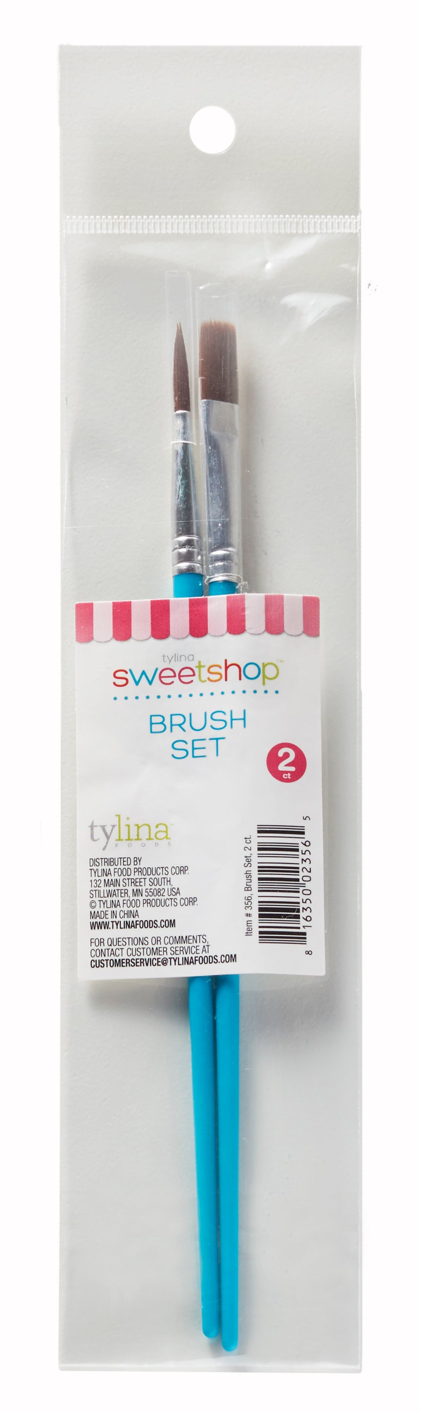 Sweetshop Decorating Brushes Set Of 2