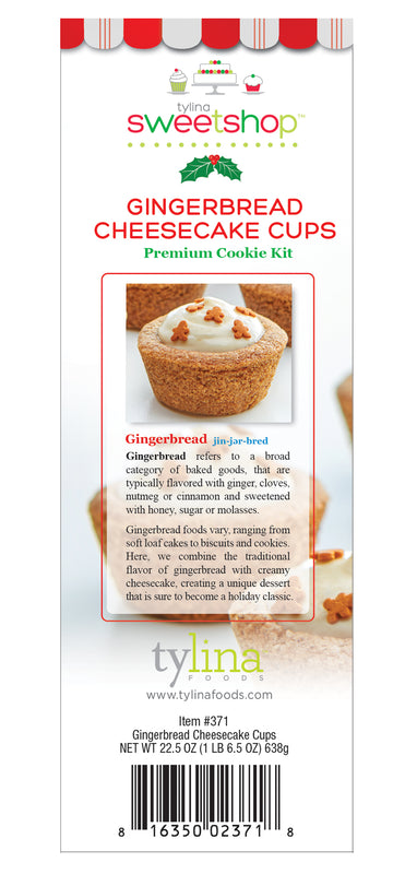 Sweetshop Gingerbread Cheesecake Cups Cookie Mix