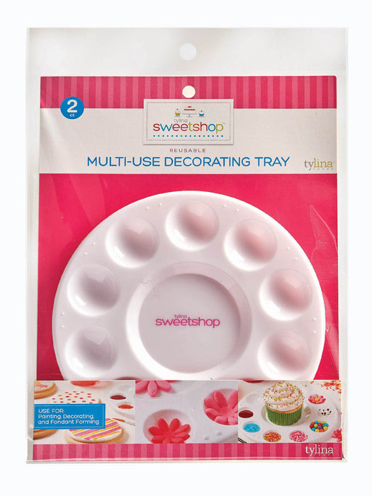 Sweetshop Multi Use Decorating Tray - 2Ct