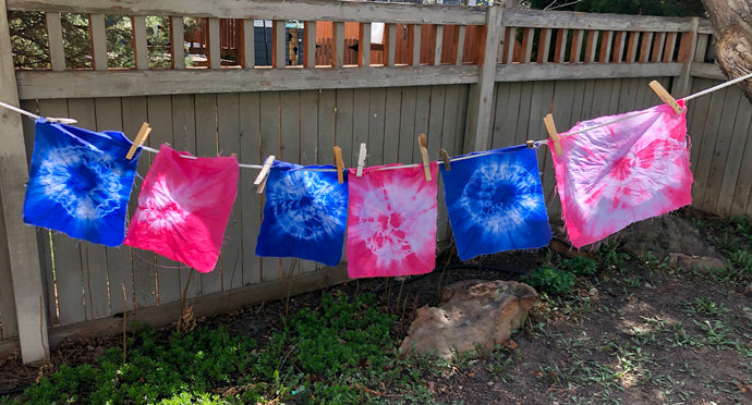 'Celebrate The Creative' - The Magic of Dyeing With Young Children