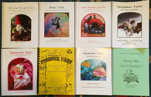 All 8 Story and Puppetry Teacher/Parent Resource Books - Educational Discount
