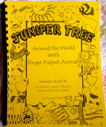 Around the World with Finger Puppet Animals Book
