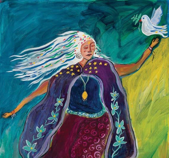 Women's Writes of Passage  December 24 -  January 6,  2020- An Online Course for the Holy Nights Inspired by Steiner's 12 Professions and the Soul Powers They Represent.