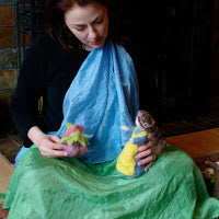 The Art and Joy of Lap Puppetry and the 'Instant Stage'!  A 4-week Online course We begin  July 25