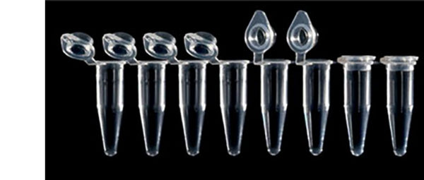 8-tube Strip PCR Tube with Attached Cap, 120 strips/bag