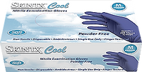 Cool Blue Soft Nitrile  Glove, 3.5 mil, Powder Free, 2000 gloves/case